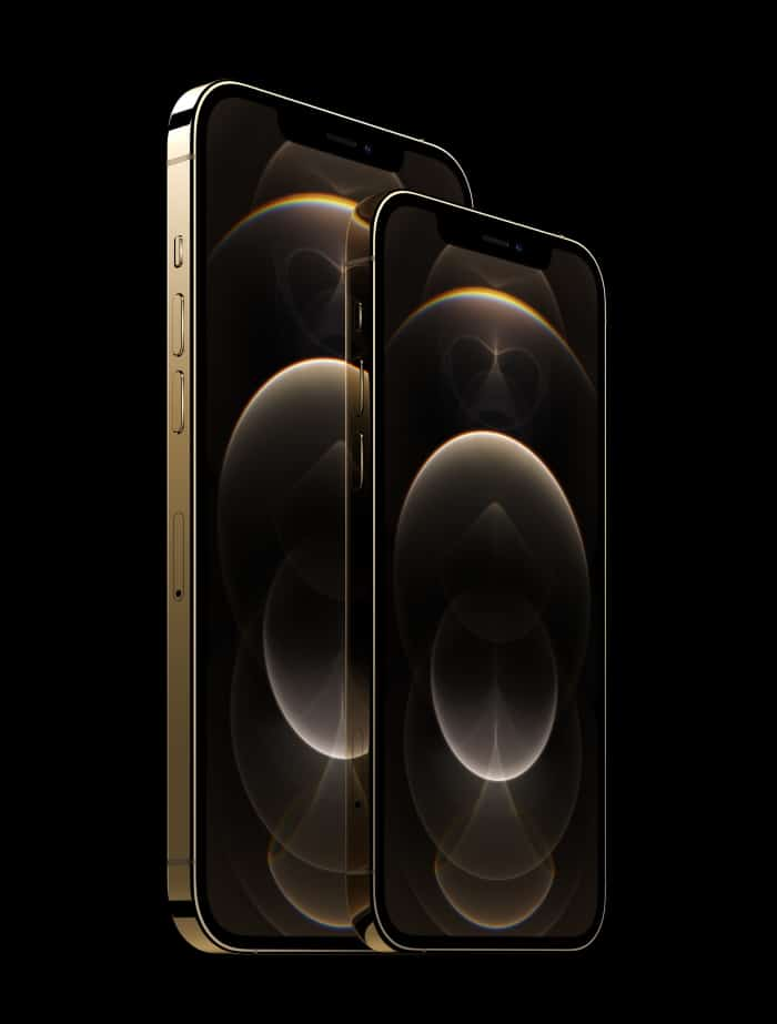 Apple iPhone 12 Pro Test und Daten in Gold
