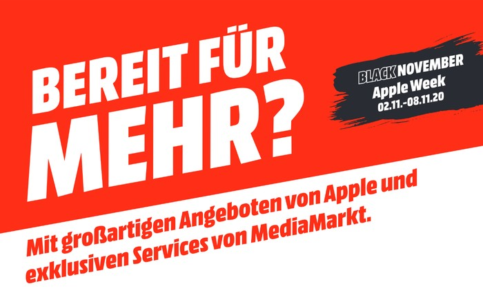 Apple Week 2020 bei MediaMarkt