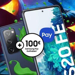 Samsung Galaxy S20 FE mit otelo Allnet-Flat und 29,99 € Grundgebühr im Vodafone-Netz