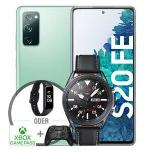 Samsung Galaxy S20 FE Grün Vorbesteller + Samsung Galaxy Watch 3 Thumbnail
