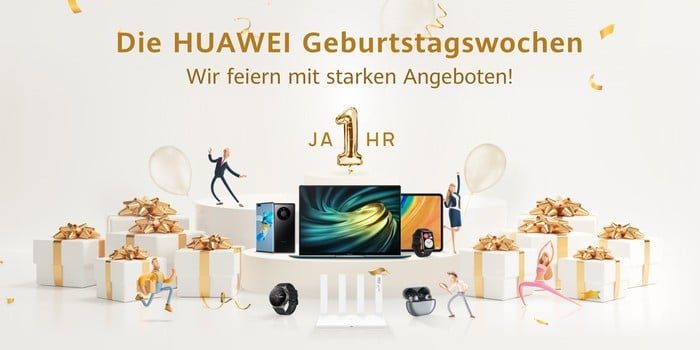 Huawei Geburtstagswochen 2021