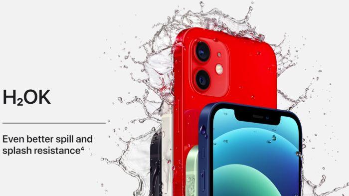 iPhone 12 ist wasserdicht nach IP68