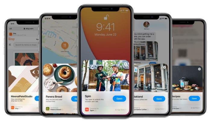 iOS 14 - App Clips