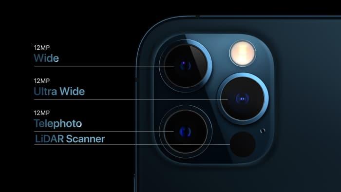iPhone 12 Pro Test und Daten - Linsen & Sensoren