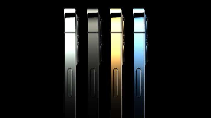 iPhone 12 Pro Test & Daten - Seitenansicht der Farbvarianten