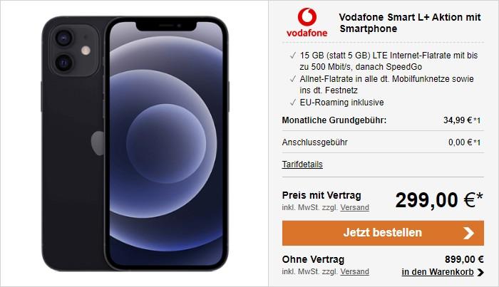 iPhone 12 +Vodafone Smart L Plus bei LogiTel