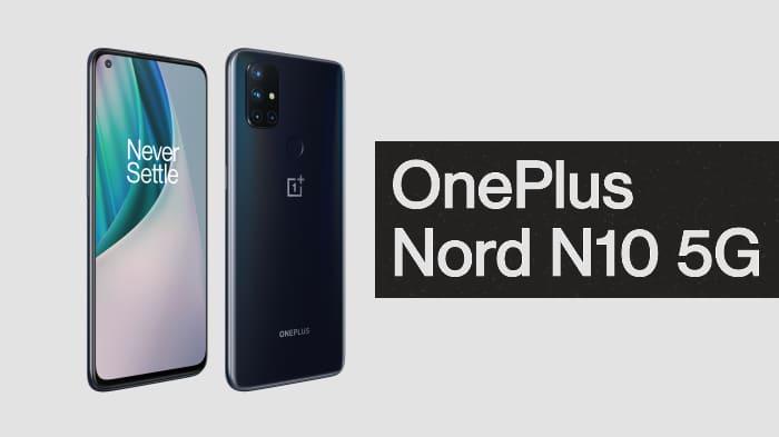 OnePlus Nord N10 5G - schräggestellt