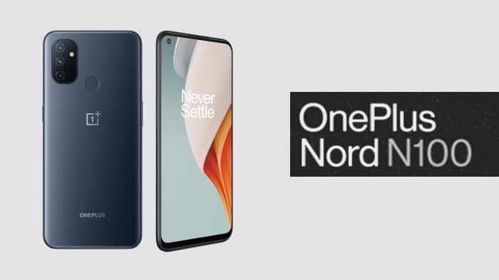 OnePlus Nord N100 - schräggestellt