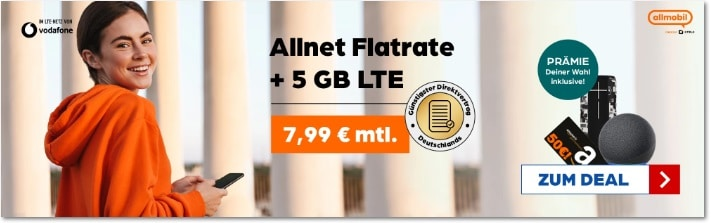 otelo allmobil 5gb 50 euro amazon