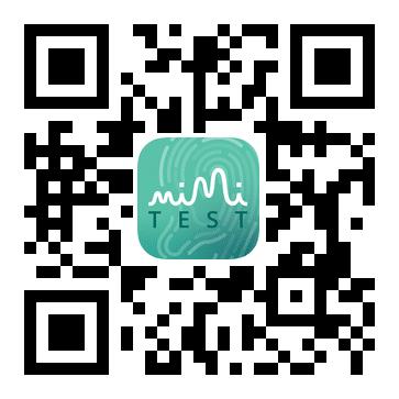 QR-Code: Mimi Hörtest im Apple App Store