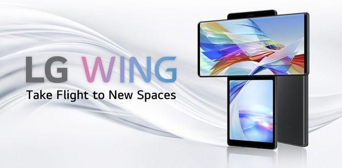 LG Wing Sammelartikel