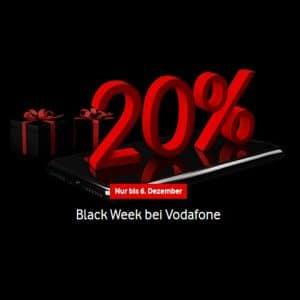 Vodafone Black Week Aktion 2020