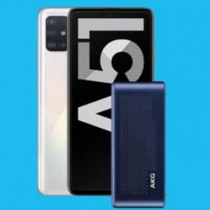 Samsung Galaxy A51 mit AKG-Lautsprecher