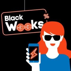 Blau Black Weeks: Tarif-Deals mit Bestpreisen - z.B. Google Pixel 4a + gratis Case + 5 GB LTE mit nur 18,99 € Grundgebühr