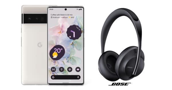 Google-Aktion: Bose-Kopfhörer gratis zum Pixel 6 (Pro)