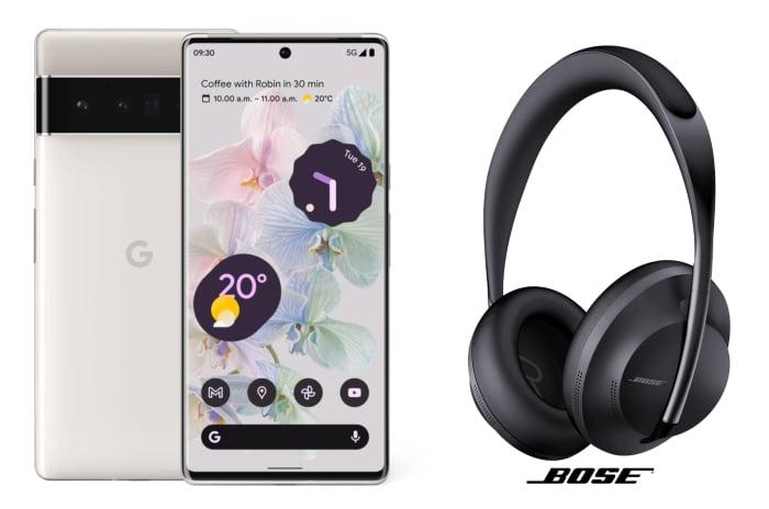 Google-Aktion: Gratis Bose-Kopfhörer zum brandneuen Pixel 6 (Pro)