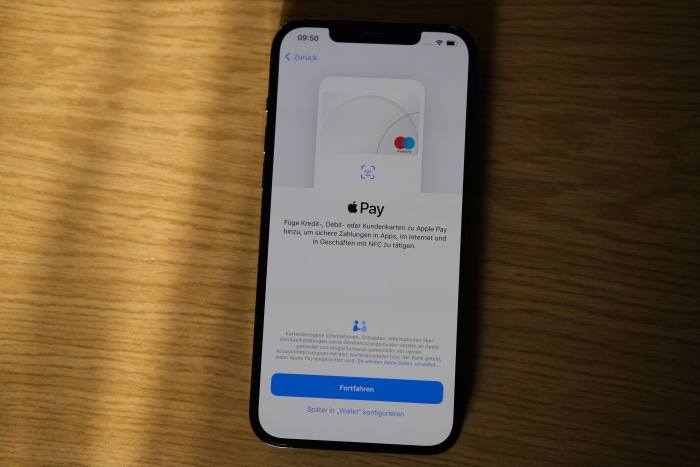 iPhone-Migration - Apple Pay