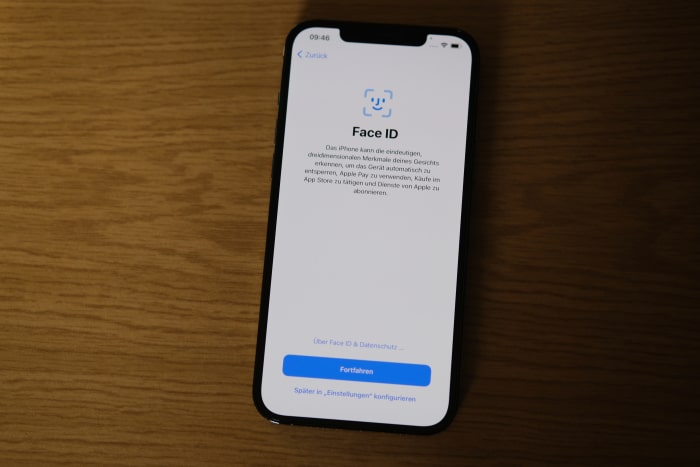 iPhone-Migration - Face ID