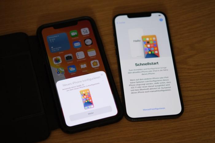 iPhone-Migration - Schnellstart