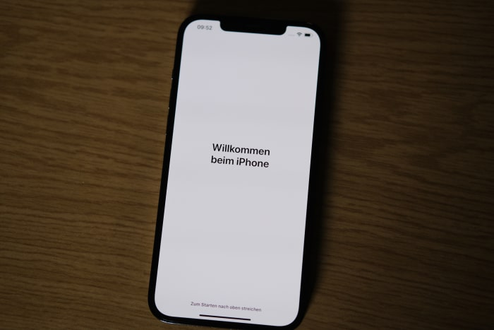 iPhone-Migration - Willkommen