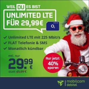 mobilcom-debitel Free Unlimited Max Nikolaus-Deal 2020 bei Vitrado Thumbnail