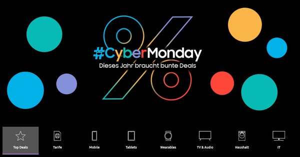 Samsung Cyber Monday 2020 Thumbnail
