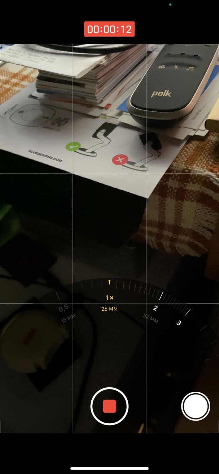 Tipps iPhone - Kamera sperren - Zoombereich Weitwinkel