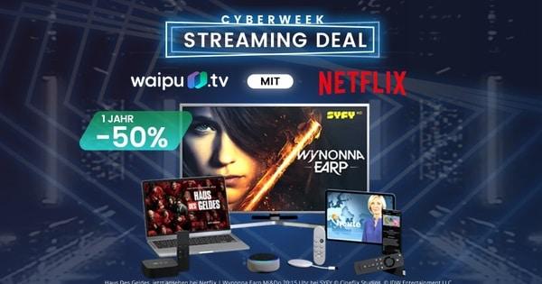 waipu tv Cyber Week Aktion 2020