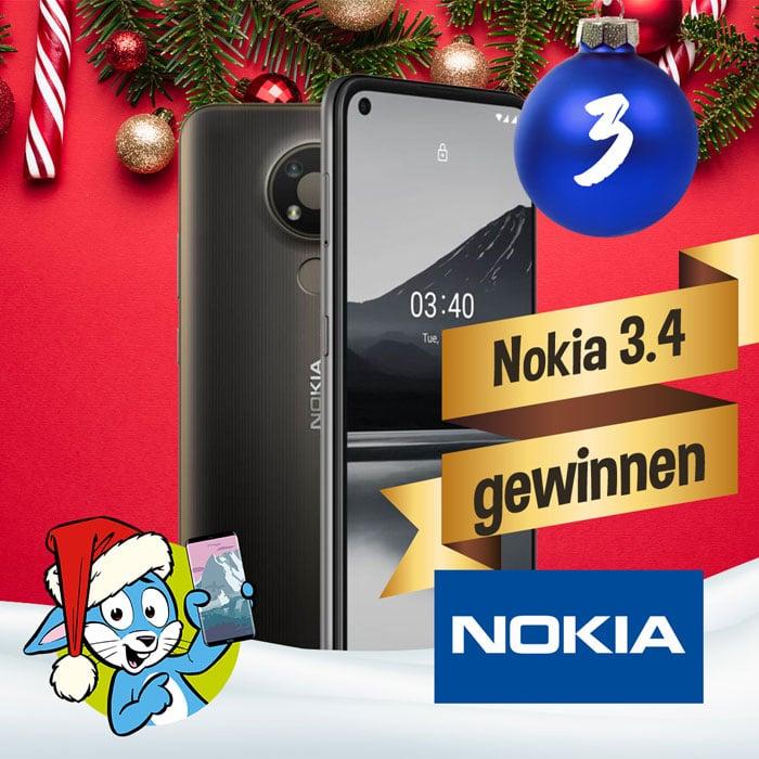 Nokia 3.4 gewinnen