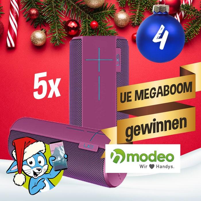 Logitech UE Megaboom Bluetooth Lautsprecher gewinnen