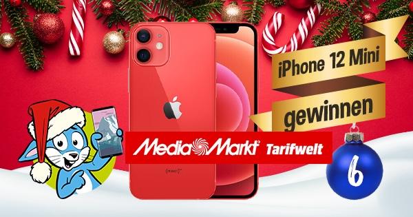 Handyhase Adventskalender Türchen 6: Gewinne ein Apple iPhone 12 mini im Wert von fast 800 €