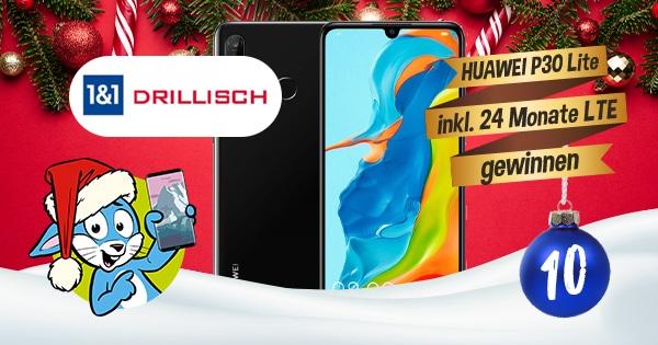 Handyhase Adventskalender Türchen 10: Gewinne ein Huawei P30 lite New Edition + maXXim-Tarif im Wert von 420 €
