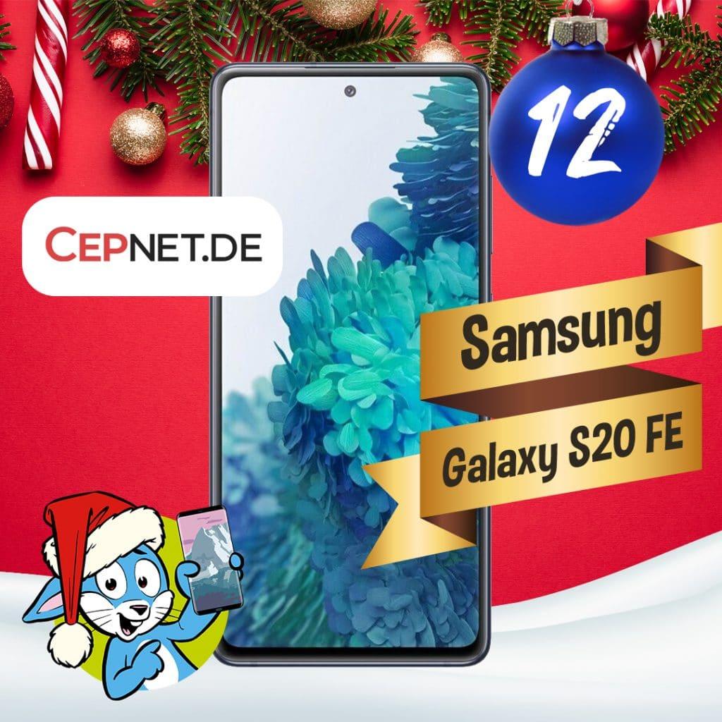 Handyhase Adventskalender Türchen 12: Gewinne ein Samsung Galaxy S20 FE im Wert von 550 €