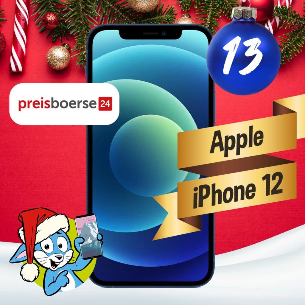 Handyhase Adventskalender Türchen 13: Gewinne ein Apple iPhone 12 im Wert von 900 €