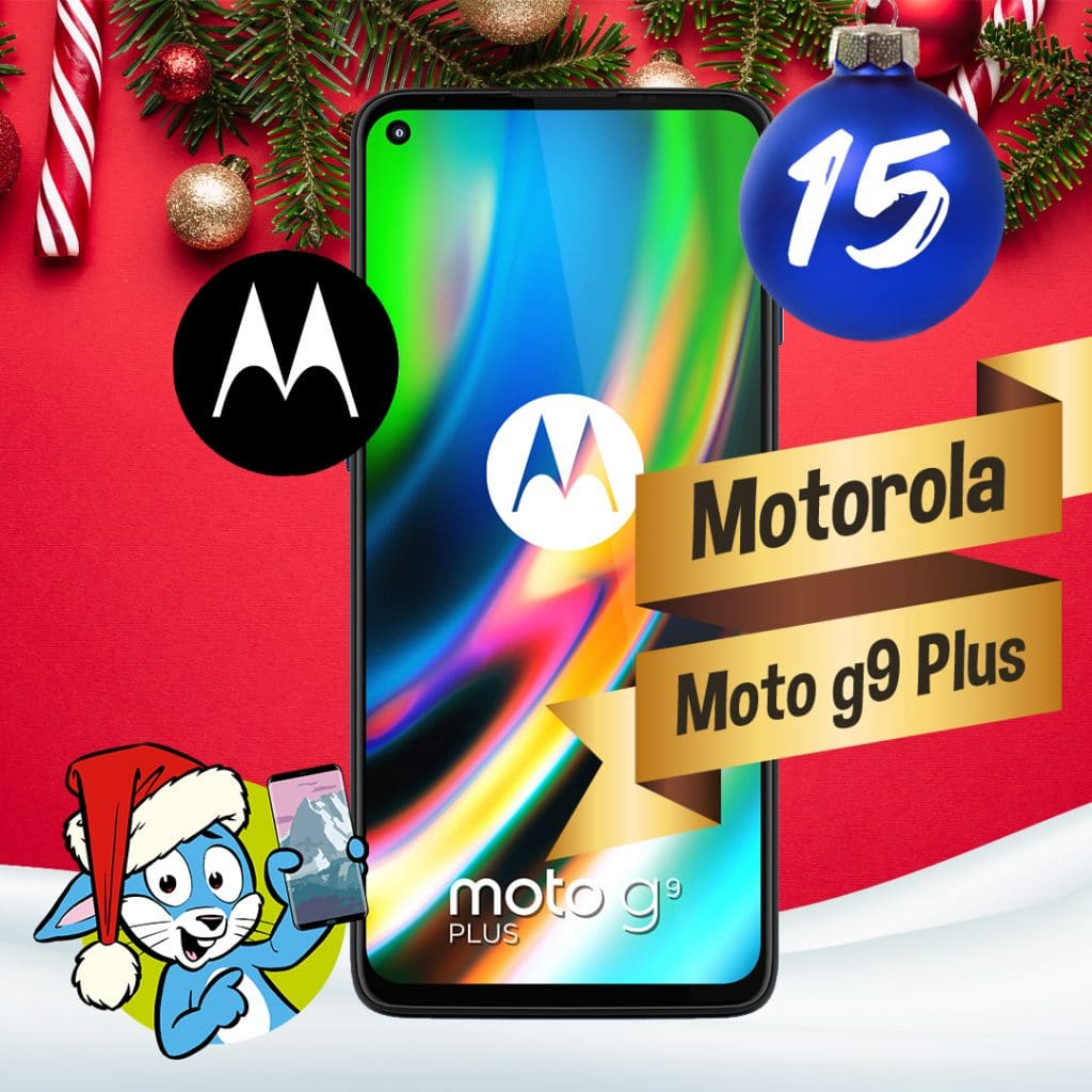 Handyhase Adventskalender Türchen 15: Gewinne ein Motorola Moto G9 Plus im Wert von 270 €