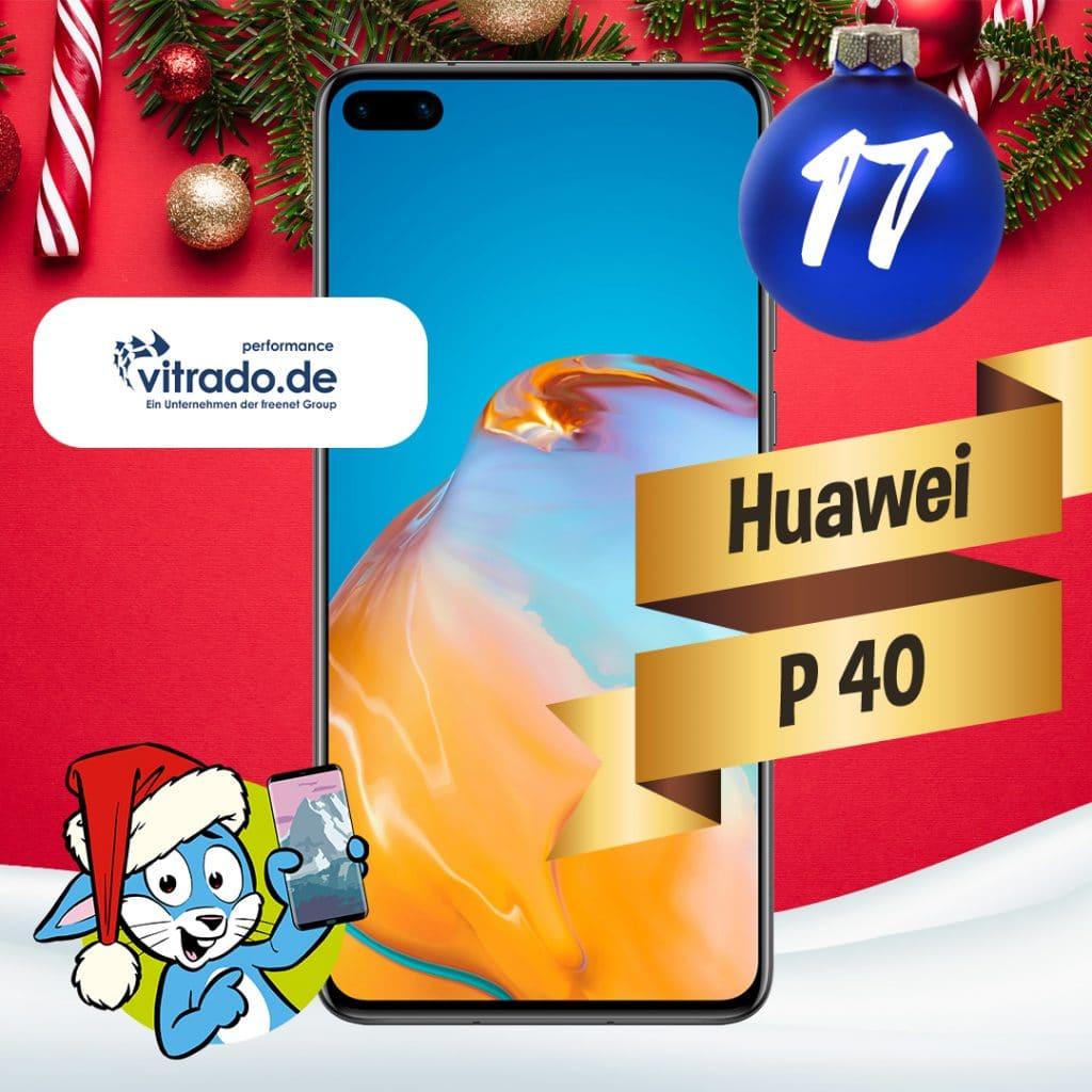 Handyhase Adventskalender Türchen 17: Gewinne ein Huawei P40 im Wert von 399 €