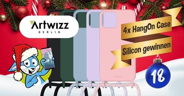 Handyhase Adventskalender Türchen 18: Gewinne eines von 4x Artwizz HangOn Case Silicone im Gesamtwert von 150 €