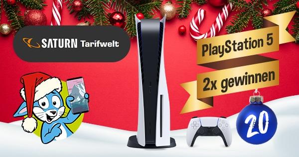 Handyhase Adventskalender Türchen 20: Gewinne eine von 2x Sony PlayStation 5 im Wert von 500 €