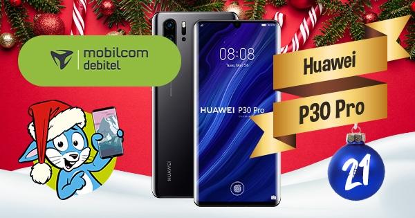 Handyhase Adventskalender Türchen 21: Gewinne ein Huawei P30 Pro im Wert von 520 €