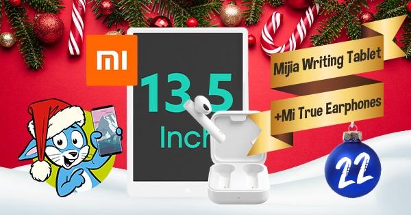 Handyhase Adventskalender Türchen 22: Gewinne ein Xiaomi Mijia Writing Tablet + Kopfhörer im Gesamtwert von 70 €