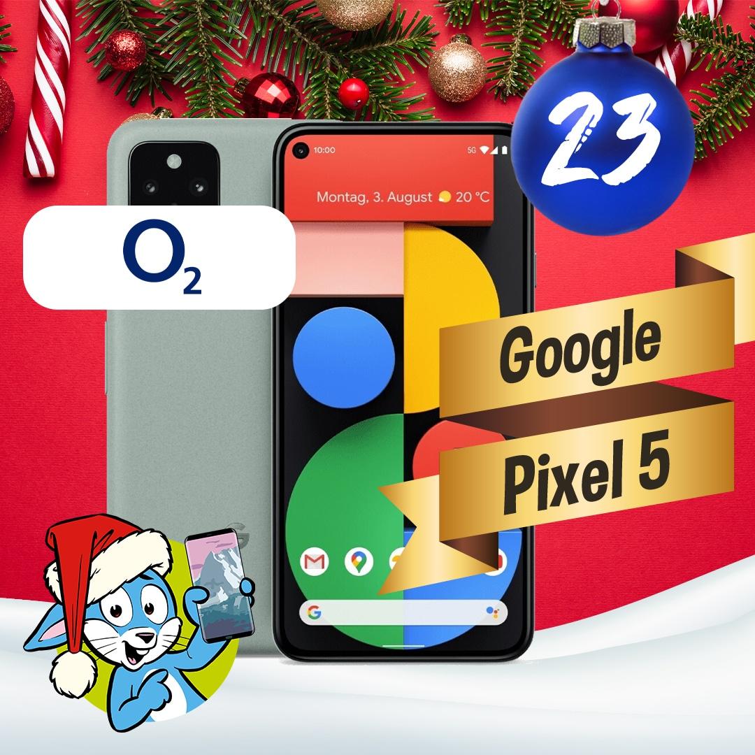Handyhase Adventskalender Türchen 23: Gewinne ein Google Pixel 5 im Wert von 630 €