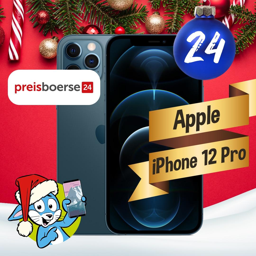 Handyhase Adventskalender Türchen 24: Gewinne ein Apple iPhone 12 Pro im Wert von 1.120 €