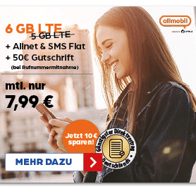 Allmobil Teaserbild Thumb neuer 6 GB Tarif