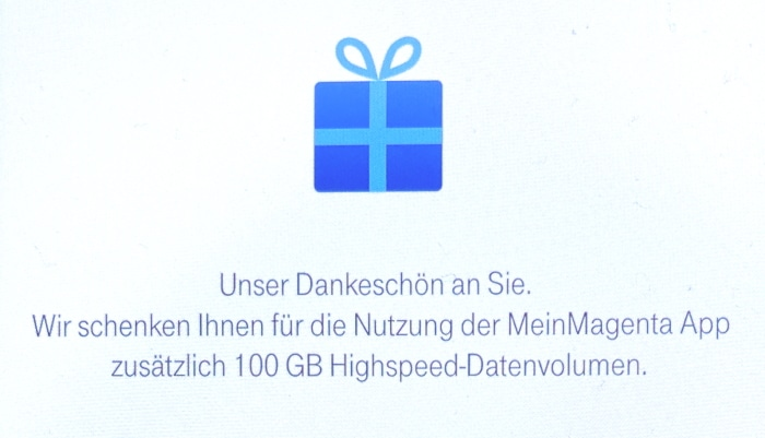 Telekom Datengeschenk 100 GB: So buchst Du es!