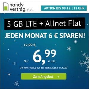 handyvertrag.de LTE All 5 GB Aktion Dezember 2020 Thumbnail