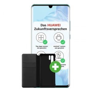 Huawei P30 Pro (New Edition) + Huawei Booklet Clear View Flip Cover Thumbnail