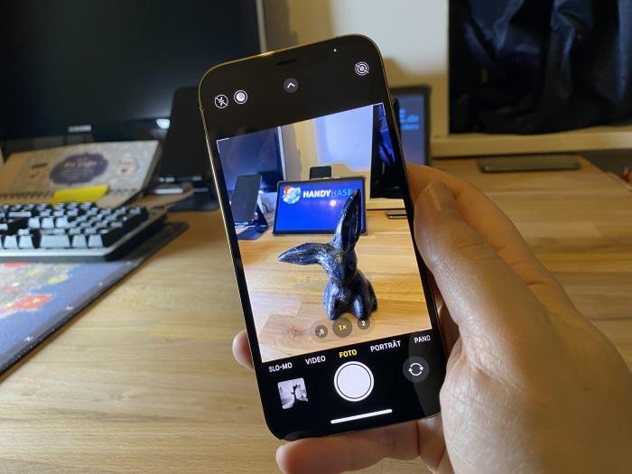 iPhone 12 Pro Test offene Kamera App