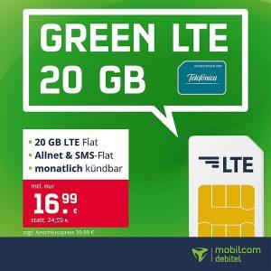 mobilcom-debitel green LTE (Telefónica-Netz) Thumbnail