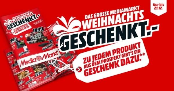 MediaMarkt Weihnachts-Geschenkt-Aktion 2020 Thumbnail