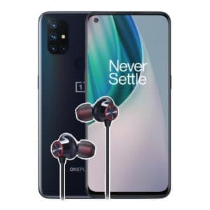 OnePlus Nord N10 5G + OnePlus Bullets Wireless 2 Thumbnail